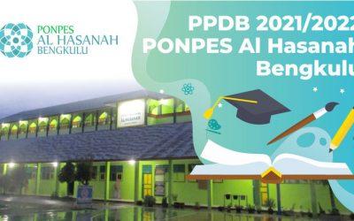 Informasi PPDB Ponpes Al Hasanah TA. 2021-2022