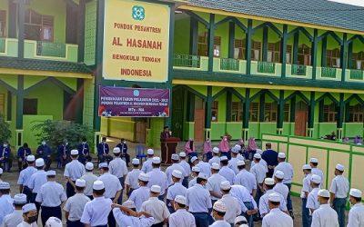 Pembukaan TP. 2021-2022 Ponpes Al Hasanah Benteng